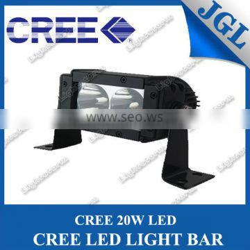 2 Leds Cree led light bar 20w work light offroad light lamp cree led bulb 5inch truck boat work light