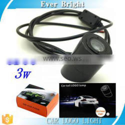 LED Car Welcome Lamps Universal c-ree 3w Car Tail Logo Lights Laser Projector light lamp Car-styling