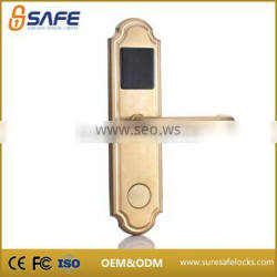 SS-302G Fidelio certified keyless RFID hotel lock work with smart card