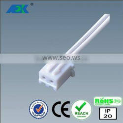 24V /3A JST 2 pin mini male plug led cable wire connector assembly