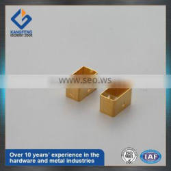 Deep Drawn Brass Copper Metal Brackets for Electric Equipment Stamping Parts