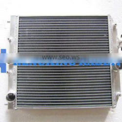 aluminum racing radiator for Honda CRX 88-91