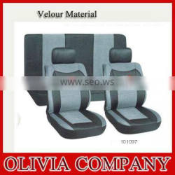 Hot model velour car seat cover in seat cushions