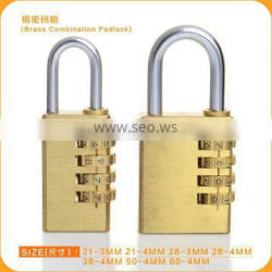 Hot Sale Brass Digital Combination Padlock