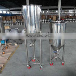 stainless steel fermenter with wheels/Stainless Steel Fermenter/fermenter