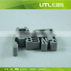 UTL E/1A UK Series Busbar Terminal Block Fittings with UL CE VDE Snap on Screw Down