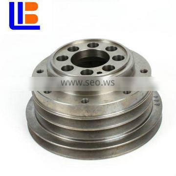 ISU-ZU genuine ZX470-3 6WG1 Crankshaft belt pulley 1-12371444-3