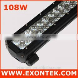 Hot sale led headlight bar 108W led light for car 108W 12 inch 4x4 truck OEM available