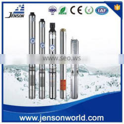 Jenson stainless steel multiple stage deep well electric submersible pump