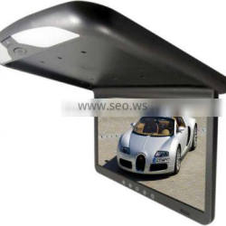 Roof lcd 19inch car tft lcd dashboard video monitor with av/tv function