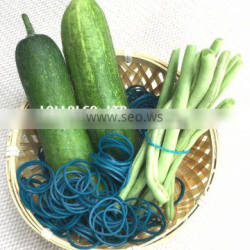 Rubber band specializes use for all mix organic green vegetables