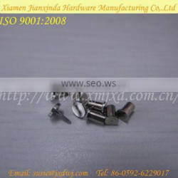 Precision Micro CNC maching Parts Machinery Inox Screw Tiny Thread Set