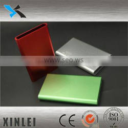 OEM red anodized heatsink for electrical aluminum alloy enclosure