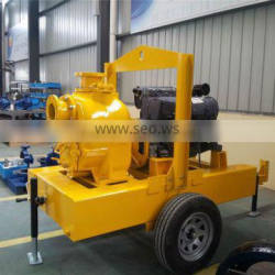 Trade assurance HFCT6 6 inch self priming water pump with Deutz engine