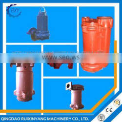 Hot sale high pressure water pump submersible cast iron water pump parts