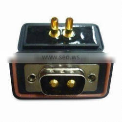 Good service waterproof d-sub high power 2w2 male solder type connector