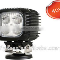 40W LED Work Light for jeep truck, agricultural, machine, heavy duty, boat, marine
