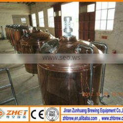 small red copper factory equipment plants for beer used