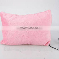 CE/ROHS Massage Health care Comfortable heated body pillow Hot sale Heated pillow Manufacturer/Promotion