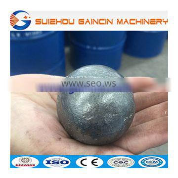 grinding media forged steel ball, steel forged balls, grinding media steel balls, dia.45mm,60mm steel grinding media balls