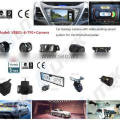 Car parking Sensor Type and DC 12V Voltage rear view camera for Nissan,rearview mirror optional