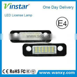 LED license plate lamp for Ford Fusion Mondeo MK2, Car number license plate for ford, led light for Ford