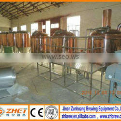 small red copper beer production line equipment