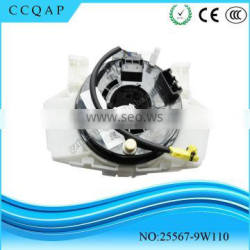 25567-9W110 OEM high quality professional manufacturers clock spring steering wheel airbag spiral power cable