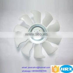 Forklift engine spare parts for Xinchai 490 498 fan blade