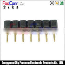 pitch2.0 machine pin female connector straight dip