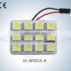 led Auto Light Dome Lamp 12SMD 5050 with CE