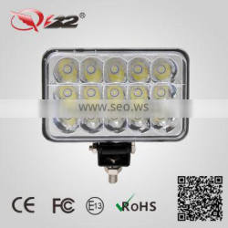 50000Hours long life 45W motorcycle led lights IP67, auto 12V led driving light