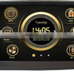 Direct factory Deckless universal car MP4 player with GPS/Bluetooth/Radio/SWC/Virtual 6CD/3G /ATV/iPod