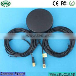 hot sale black rubber duck navigation glonass combined gsm gps antenna fakra for car