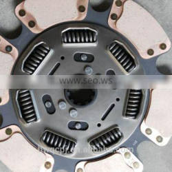 Fast delivery lowest price 387mm copper clutch disc clutch cover used for Mack
