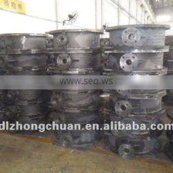 Butterfly valve body and disc castings