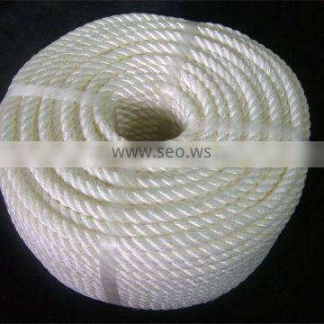 Most conventional polypropylene rope