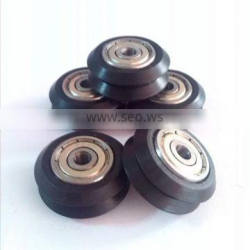 mini V Wheel Linear Guide System parts small plastic v groove pulley