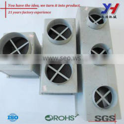 OEM ODM Custom Fabrication of Electro-Galvanized Air Vent CNC Bending and Laser Cutting Parts Air Filters