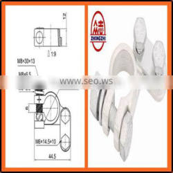 ST135008 Brass Coted truck/ bus/ car Battery Terminal types DIN cable terminal,wire terminal,electrical accessories