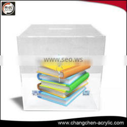 clear custom acrylic box /case made in China OEM factory with high end style