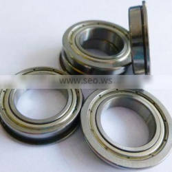 F602ZZ F682ZZX F692XZZ stainless steel flange bearings for printing machinery
