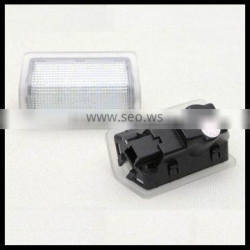 LED courtesy lamps LED door light for Mercedes Benz wireless 6000K pure white