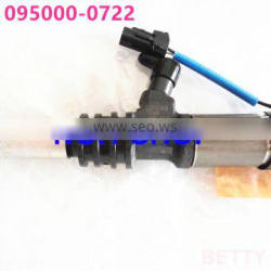 Genuine and new Common Rail Injector 0950000722 For MIT/SU/BISHI 6M60T Injector Assembly 095000-0722
