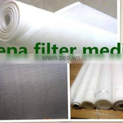 spunbond polyester air filter media material of SGS certificate
