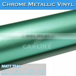 CARLIKE Brand Metallic Stickers Chrome Accessories For Cars
