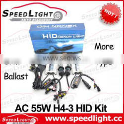 Top Selling and High Quality AC H4-3 H13-3 9004-3 9007-3 Dual Beam HID Kit