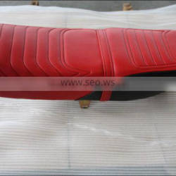 Hot sale motorcycle leather seat cover
