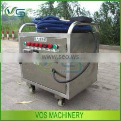 Micro water system car wash machine for sale, steam car washing machinery eco-friendly