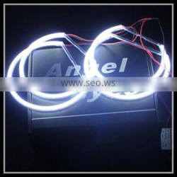 drl led cob angel eye lights xenon white headlight halo rings cob led angel eyes ring for bmw e46 non projector